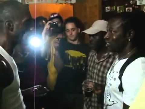 Mad Cobra & Ninjaman talking about Kiprich & Ryno Sting 2013 @ExodusStudio