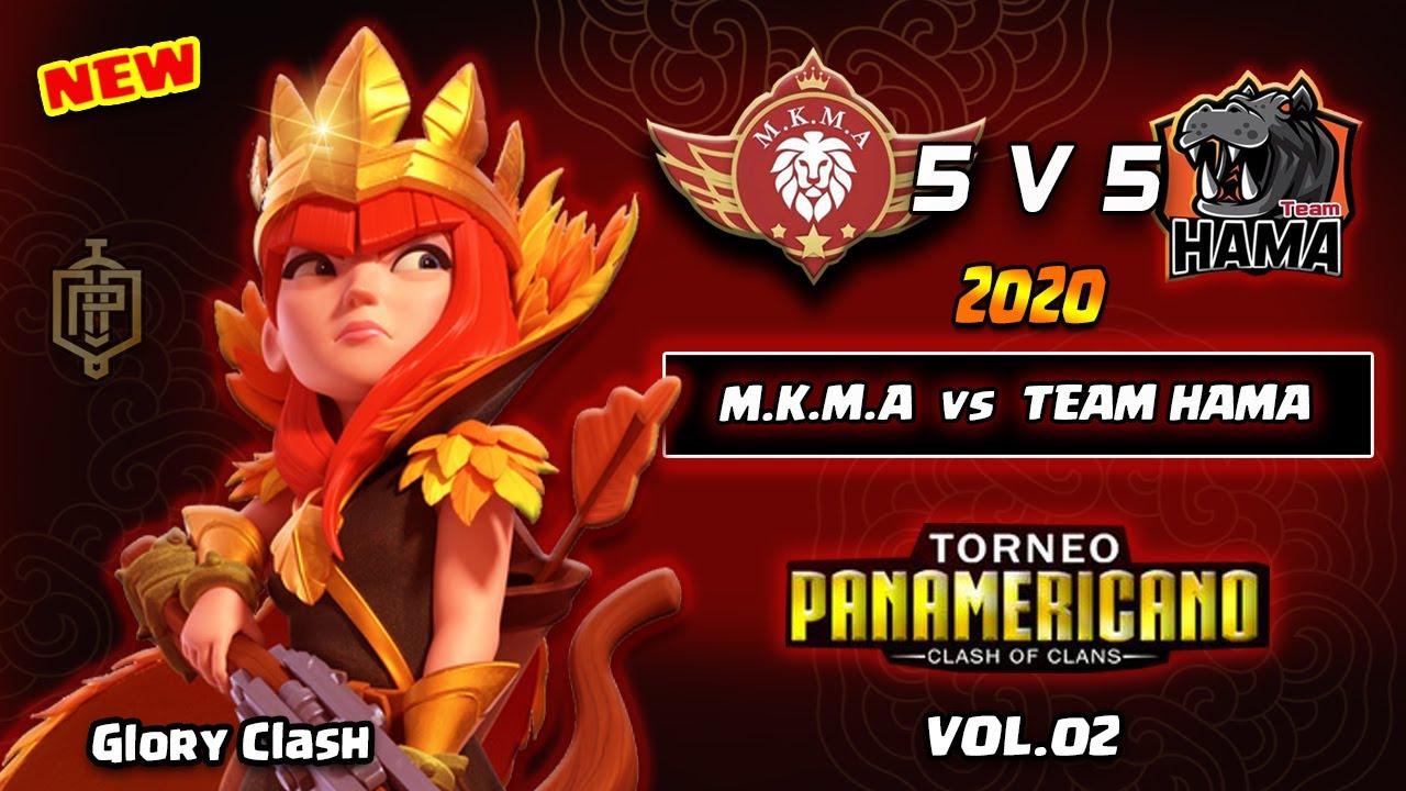 *Eliter* M.K.M.A vs Team HAMA/Torneo Panamericano COC/5v5/BASE LINK/好阵分享 {Clash of clans 部落冲突 } #601