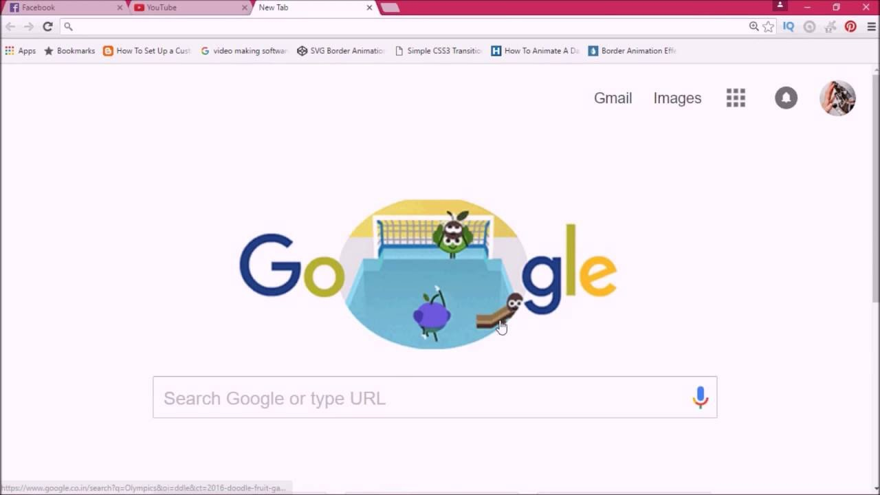 2016 Doodle Fruit Games  Day 6 Google Doodle