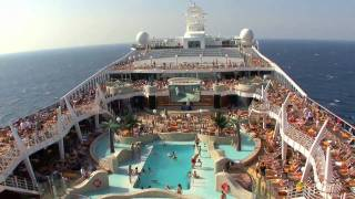 The MSC Splendida cruise ship. A glimpse of what's onboard this shi...
