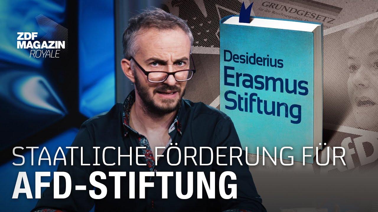 Download Ist die AfD-nahe Desiderius-Erasmus-Stiftung verfassungsfeindlich? | ZDF Magazin Royale