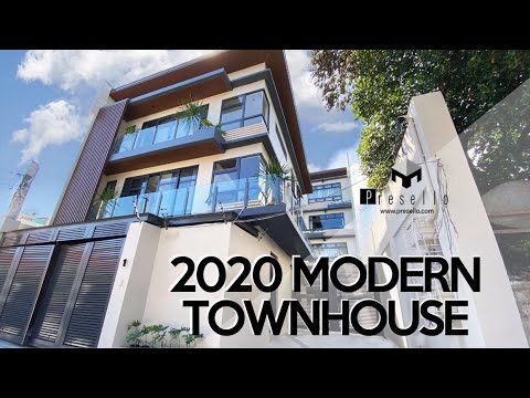 House Tour 109 | Modern 2020 Townhouse | Well Refined Townhouse for Sale in Mandaluyong City