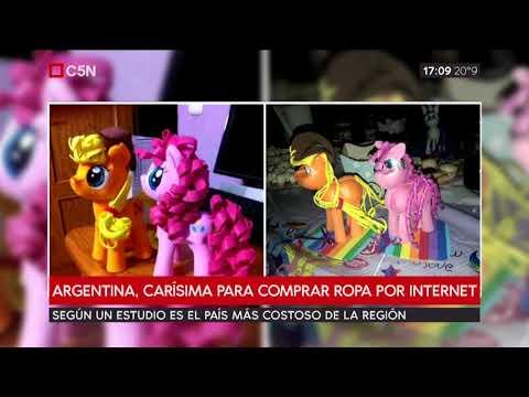 Argentina, carísima para comprar por internet