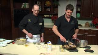Cornish Game Hens/Quail with Cornbread Stuffing with David Moyer of Vermont Foodbank