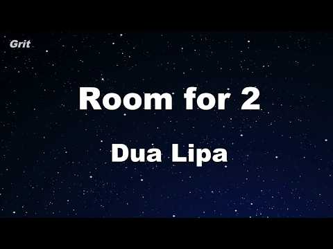 Room For 2 - Dua Lipa Karaoke 【With Guide Melody】 Instrumental