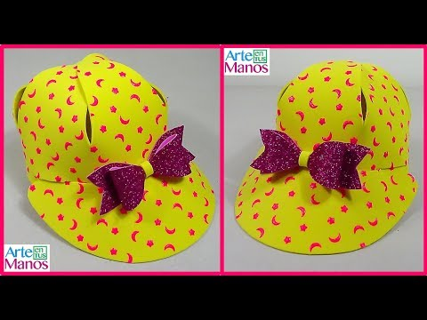 Cara Membuat Topi Untuk Anak Dalam Busa