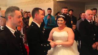 Lorraine & Robert - Our Wedding Highlights - The Three Kings, Falkirk.