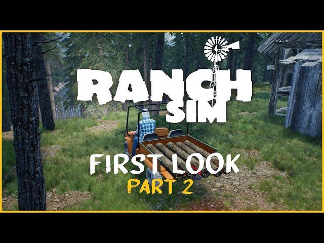 Ranch Sim: First Look (Part 2)