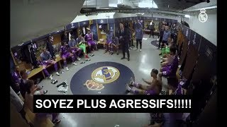 Le discours de Zidane à la mi-temps de la finale de la ligue des champions Juve-Real