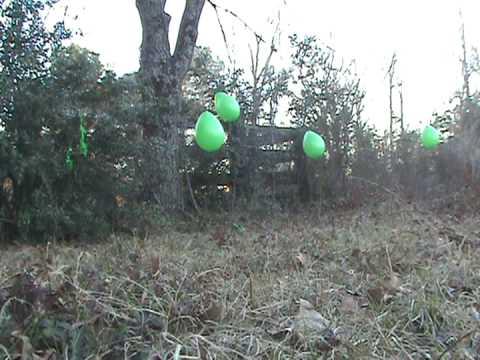 Ballistic Crack 308 round, 550 yard balloon shooting