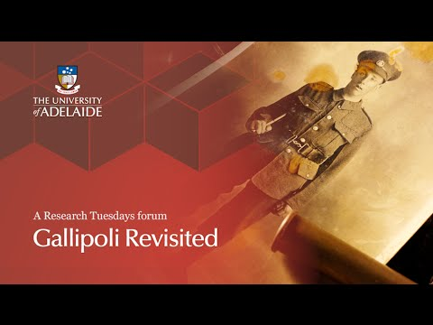 Gallipoli Revisited - A Research Tuesdays forum