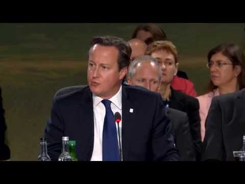 UK Prime Minister's speech at NATO meeting