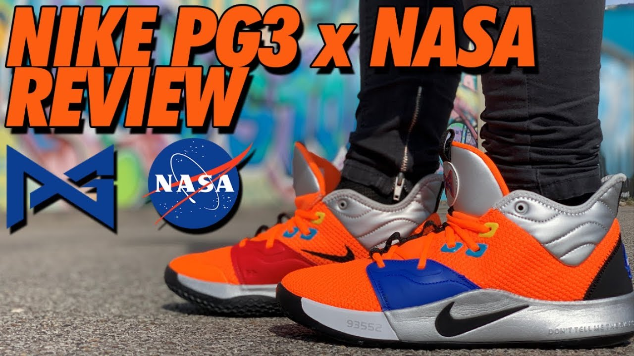 NIKE PG3 x NASA UNBOXING AND REVIEW