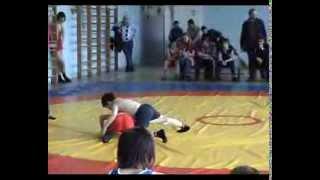 Алиев Леон,первые соревнования по вольной борьбе 2006годМосрентген