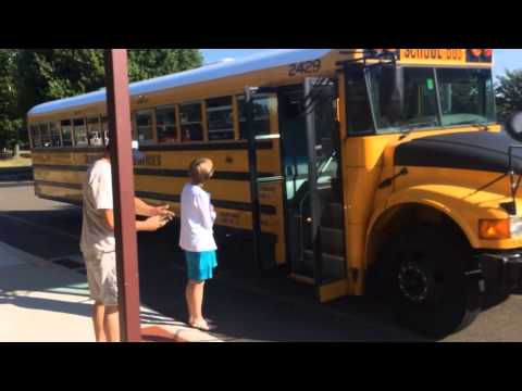 Cook Hill School's First Day - Student Arrival