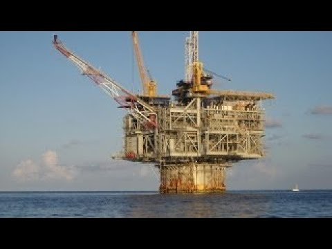 The Largest Working Oil Platform (Hoover Diana)