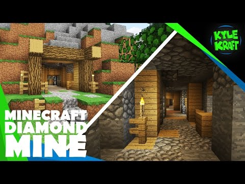 Build A Classic Diamond Mine In Minecraft!