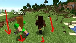 Beating Minecraft but we only walk backwards