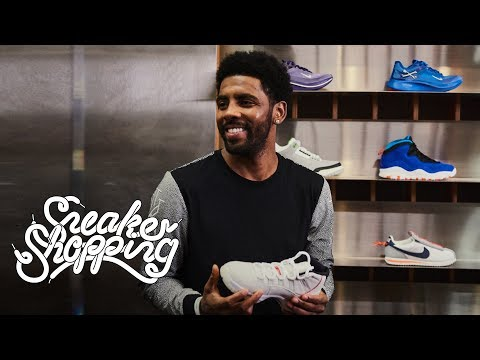 Kyrie Irving na Sneaker Shopping z Complex!