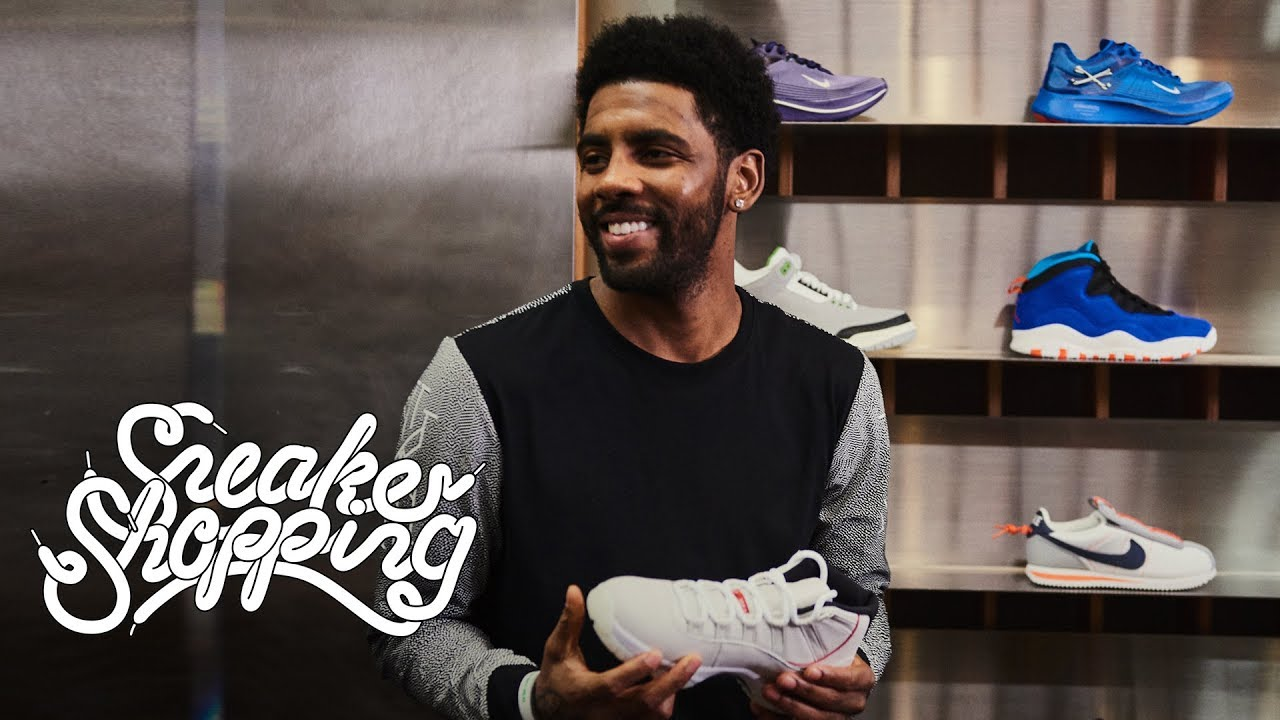 687a908df862 Kyrie Irving Goes Sneaker Shopping With Complex - YouTube