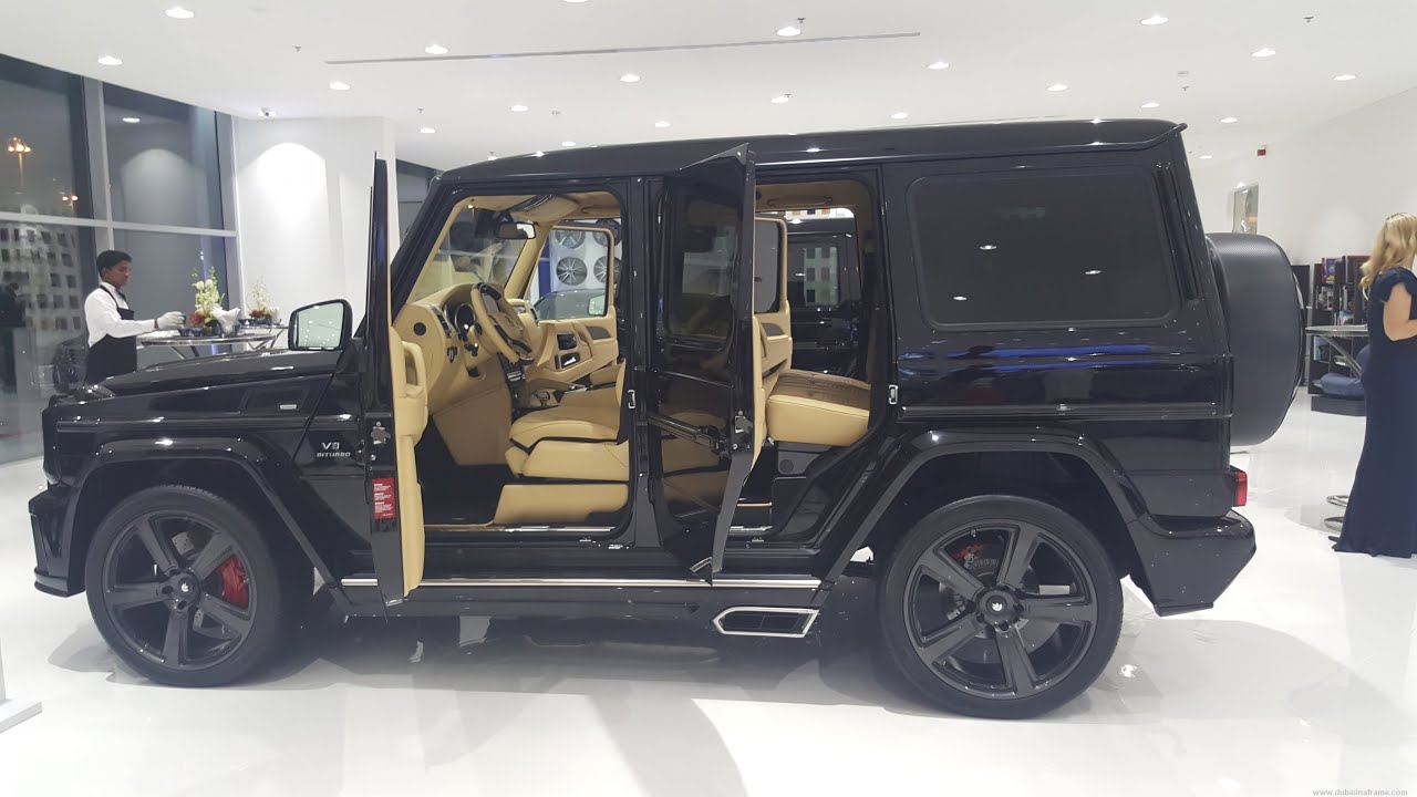g55 mercedes customized by ares