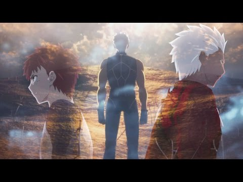 Archer vs Shirou (Fate/Stay Night Unlimited Blade Works) ~ AMV ~ Hero