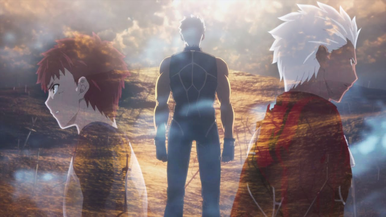 Archer Vs Shirou Fate Stay Night Unlimited Blade Works Amv