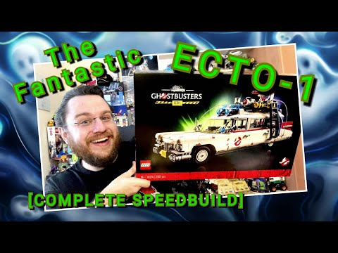 Bustin' Makes Me Feel Good! - Ghostbusters ECTO-1 (COMPLETE SPEEDBUILD) - Lego Set 10274
