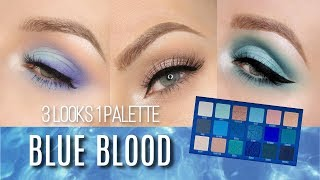 3 LOOKS 1 PALETTE - JEFFREE STAR BLUE BLOOD