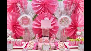 Cute Girl Birthday Party Decoration Ideas