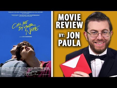 Call Me By Your Name • Best Picture Movie Review #JPMN