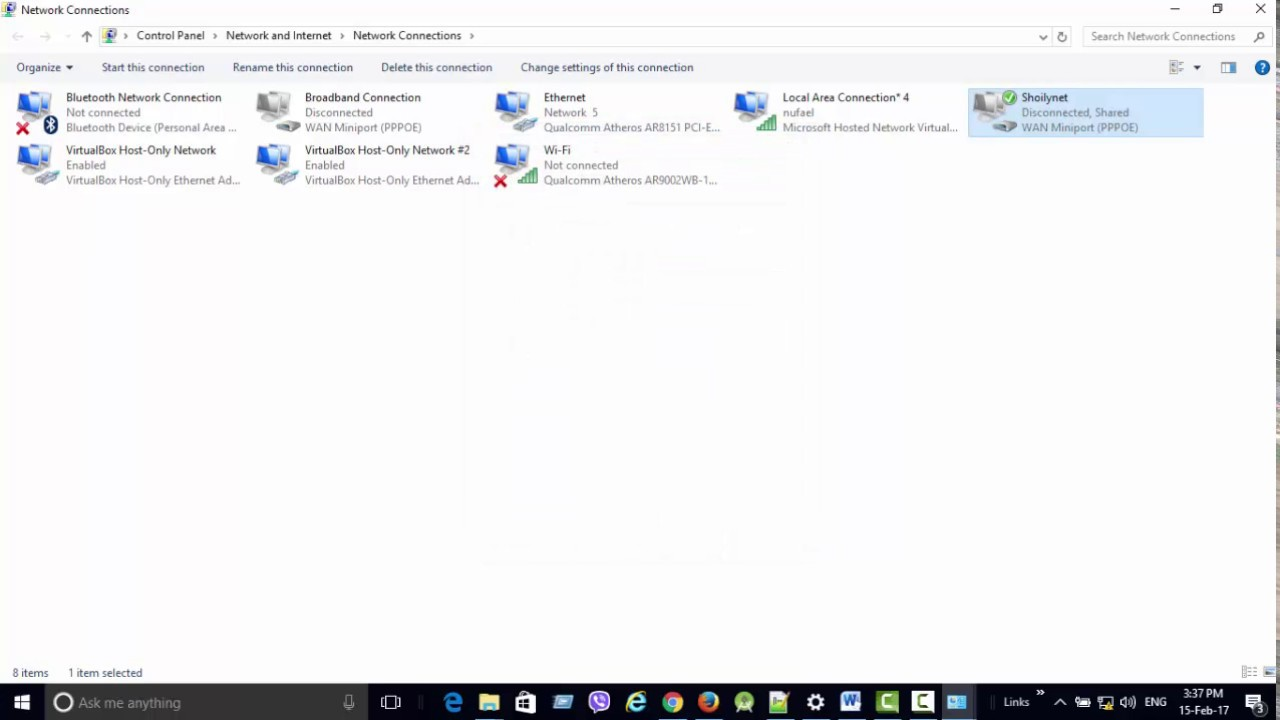 Windows 10 enable ics - How To Fix A Lan Connection Is Already Configured With Ip Address Wifi Hotspot In Windows 10