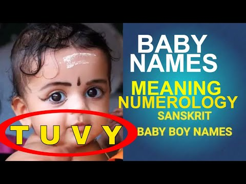 Baby Boy Names Starting With T, U, V, Y,  in Sanskrit, Most Beautiful, Unique, Hindu Baby Names