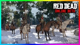 Red Dead Online - NEW FEATURES! Lobby Size, Money Grinding, Vehicle/Horse Insurance & MORE! (RDR2)