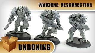 Unboxing: Warzone Resurrection Armoured Chasseurs