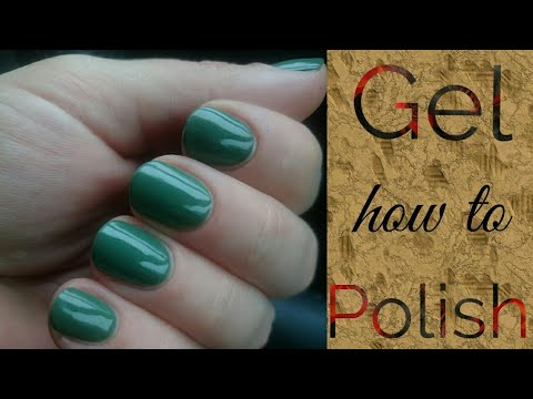 How to apply gel Polish without touching the cuticle