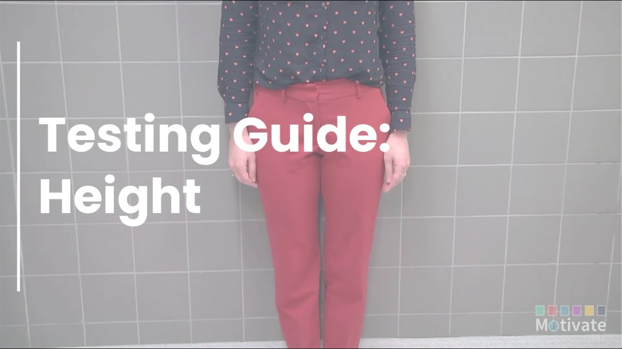 Testing Guide: Height