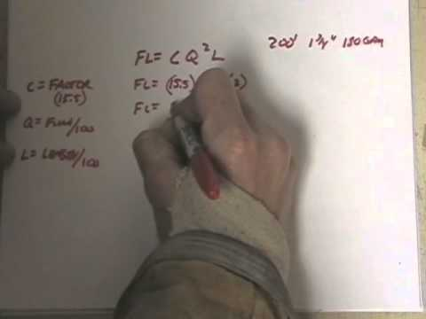 Fire Hydraulics: Modern Friction Loss Formula