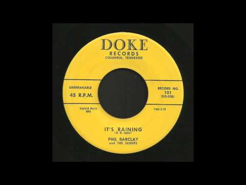 Phil Barclay - It's Raining - Rockabilly 45