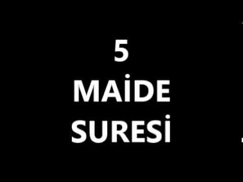 download 05 MAÄ°DE SURESÄ°