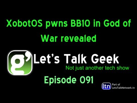 XobotOS pwns BB10 in God of War :LTG Episode 91