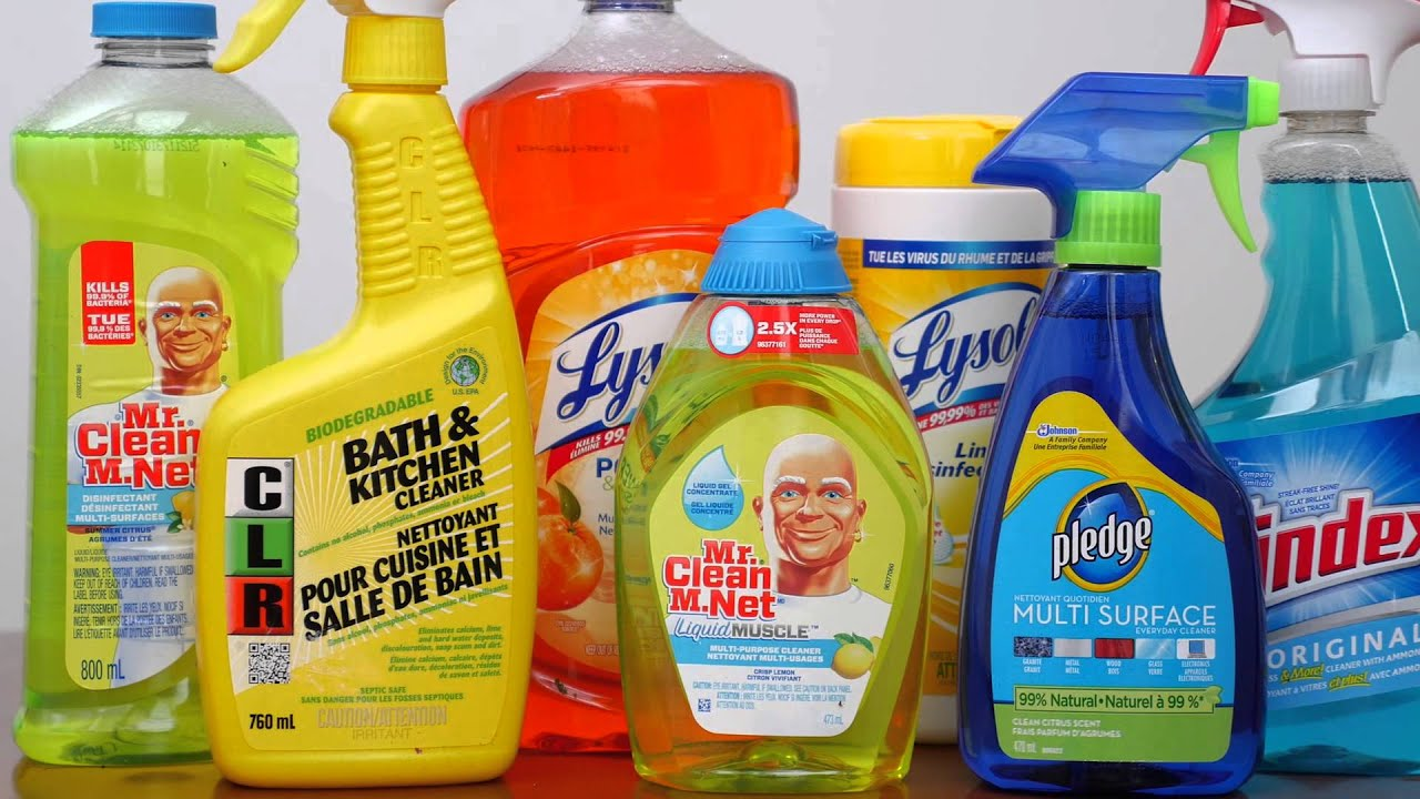 Image result for toxic kitchen cleaners