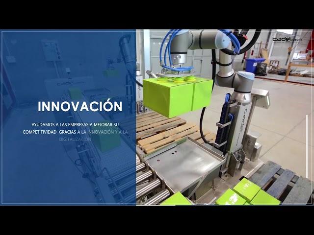 CADE Cobots - Soluciones de robótica colaborativa