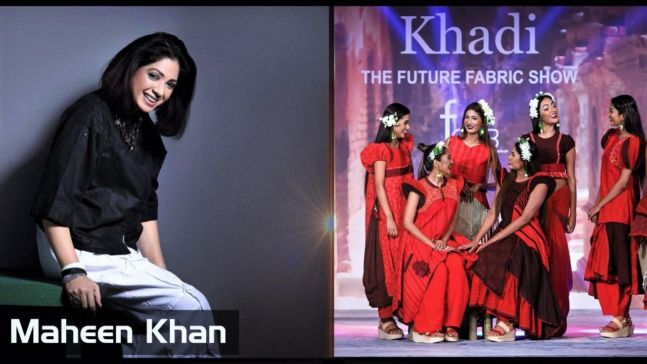 Maheen Khan Khadi The Future Fabric Show 2016 Youtube