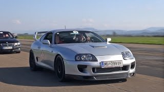 Toyota Supra Mk4 2JZ Crazy Anti-Lag Sounds!