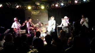2016.6.3 スーパーブルースロックjam ギター鴻池薫とギター回しの黒沢賢...