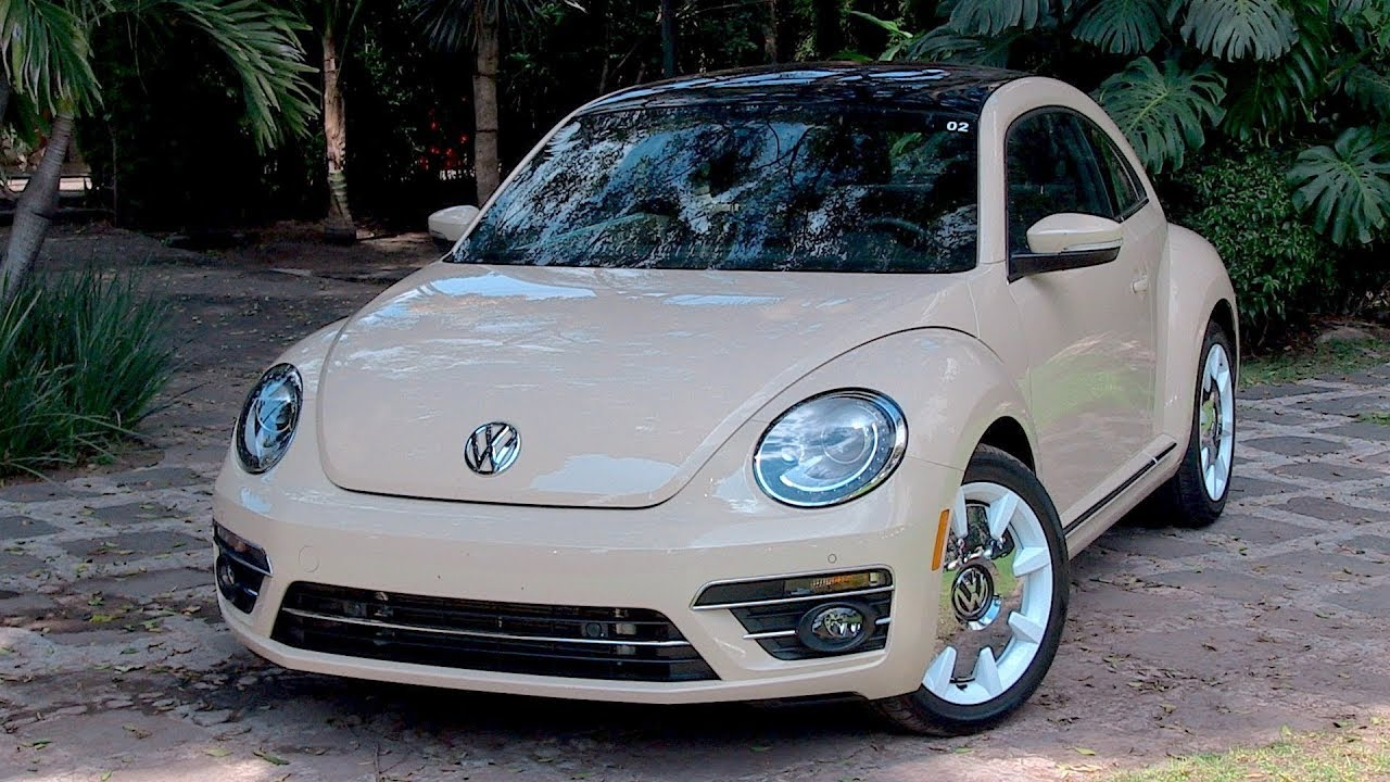 2019 Vw Beetle--the Final Wolfsburg Edition