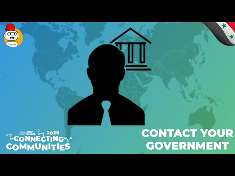 #FGC2020CC - Team Syria - Contact Your Government