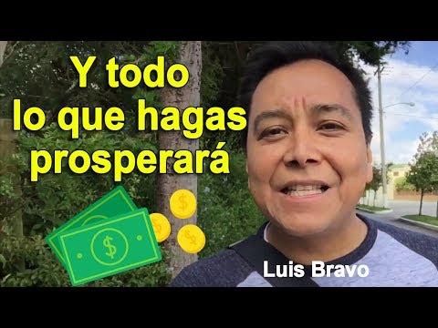 Y todo lo que hagas prosperara - Luis Bravo