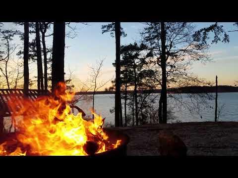 Camping at Clarks Hill Lake